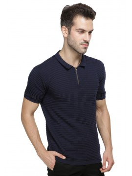 LARKHAM COTTON KNIT POLO SHIRT