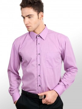 END-ON-END STRUCTURED SHIRT
