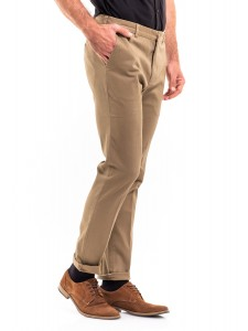 SAMUEL SLIM FIT COTTON CHINOS