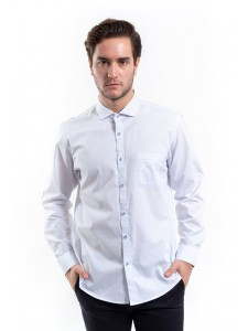 MANLY KEMEJA SLIM FIT VINDO WHITE