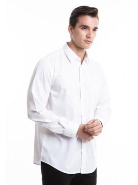 MANLY KEMEJA REGULAR FIT LEOKA WHITE