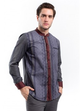 MANLY KEMEJA COUTURE FIT SHARMAN RED