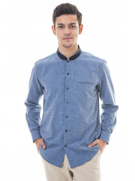 MANLY BAJU KOKO REGULAR FIT VALLE Blue