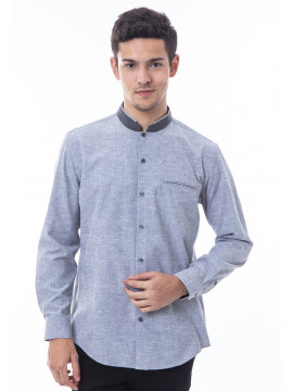 MANLY BAJU KOKO REGULAR FIT VALLE GREY