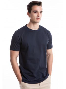 MANLY BASIC T-SHIRT AMMAR IN NAVY BLUE