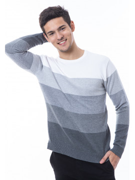 MANLY COTTON KNIT SWEATER HIND GREY