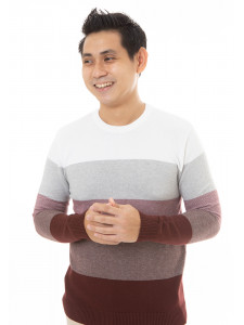MANLY COTTON KNIT SWEATER HIND MAROON