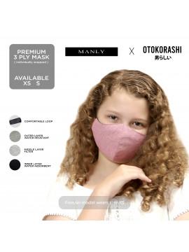 Otokorashi 3ply Face Mask Kids Blue